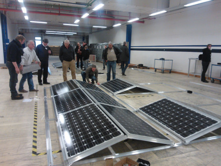 Montagesystem PV Anlagen Schulungen